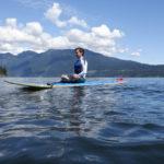 SUP Yoga Reflection