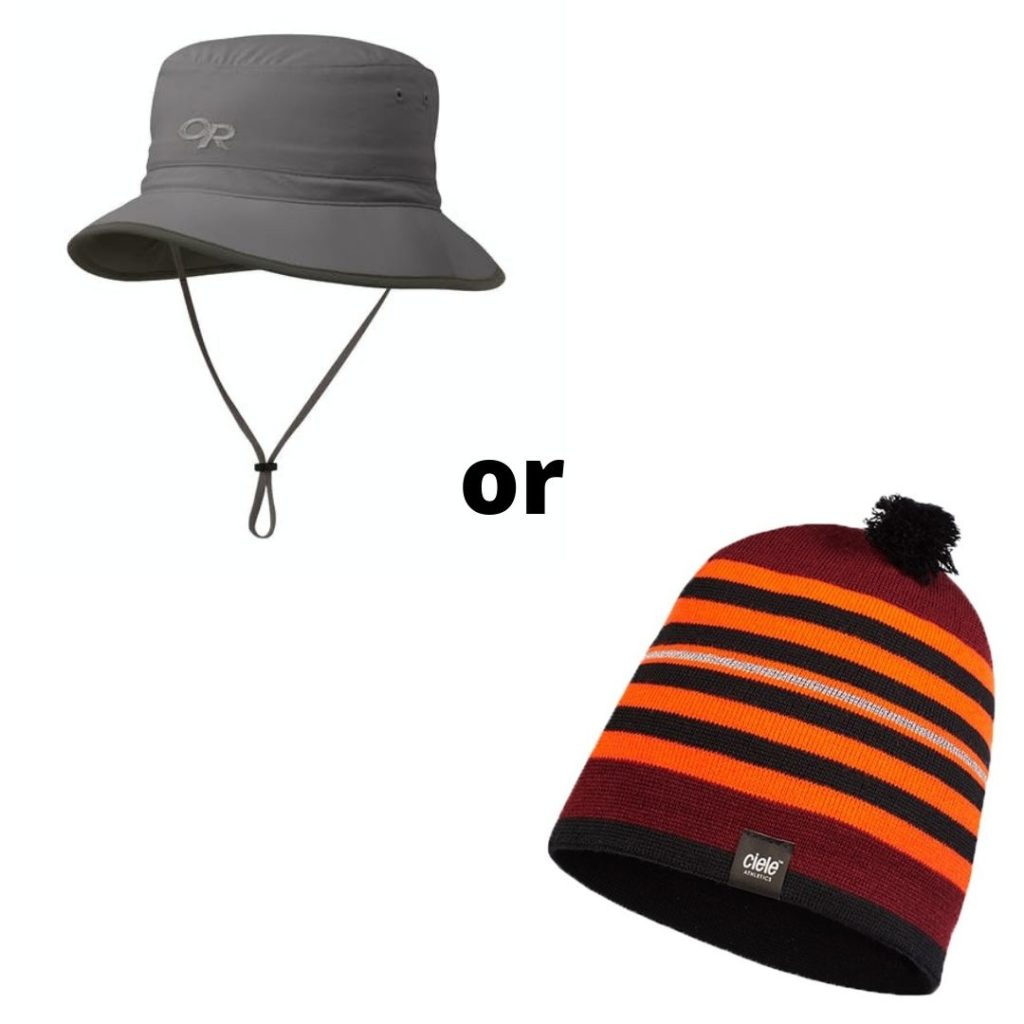 Toques or hats