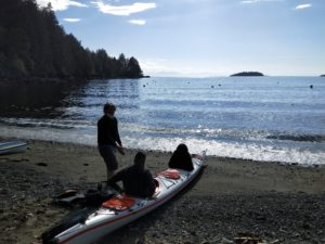 Tunstall kayak loading