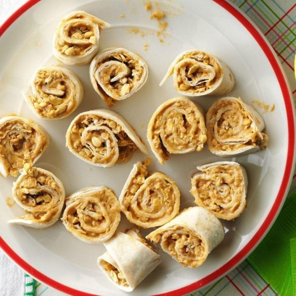 peanut butter pinwheel