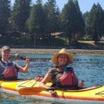 Kayaking Couple Thumbs Up