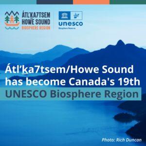 Howe Sound Biosphere Region