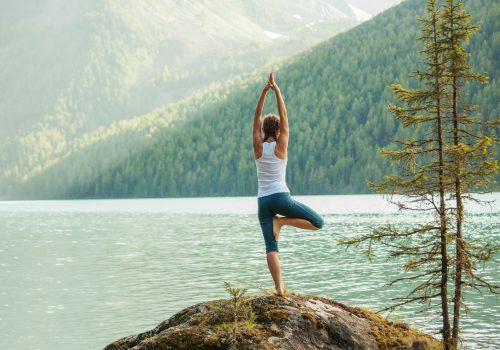 Yoga Retreat View